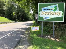 picture of new jersey sign